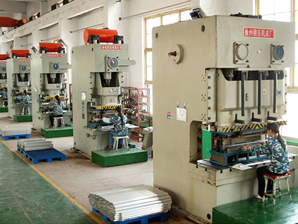 heat sink cold stamping production line